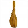 Torebko plecak duży w kolorze musztardowym