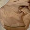 Popielaty plecak damski ze skóry naturalnej