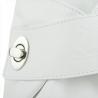 Zgrabny biały plecak skórzany
