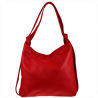 Torebko plecak duży czerwony XL