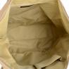 Plecak skórzany z funkcją torebki w kolorze beżowy VEZZE