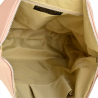 Plecak skórzany z funkcją torebki w kolorze róż pudrowy VEZZE