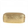 Listonoszka złota skórzana rozmiar M