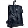 Duży i pojemny plecak skórzany, skóra najwyższej jakości XL granatowy
