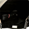 Duża torebka skórzana czarna shopper bag