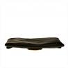 Modna skórzana torebka listonoszka czarna