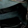 Torebka skórzana super lekka shopper czarna z zamkiem XL