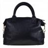 Bardzo duża torebka skórzana granatowa shopper bag XXL