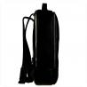 Duży czarny plecak męski ze skóry naturalnej VEZZE