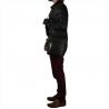 Skórzana męska listonoszka czarna włoska