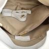 Duża torebka shopper biała skóra naturalna włoska
