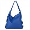 Torebko plecak duży niebieski XL