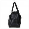 Skórzana torba damska XXL czarna