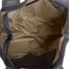 Szara torebka shopper z połyskiem XL