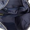 Elegancka skórzana granatowa torebka Borse in Pelle