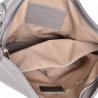 Elegncka skórzana torebka na ramię L kolor akacja