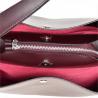 Vezze- torebka bordowa skórzana nowy wzór L