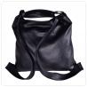 Duża skórzana torba z funkcją plecaka XL