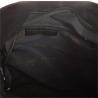 Lekka zamszowa czarna shopper bag