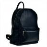 Granatowy plecak damski ze skóry naturalnej XL bardzo pojemny