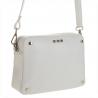 Elegancka i lekka torebka listonoszka biała M