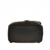 Zgrabny plecak skórzany czarny
