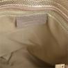 Lekk skórzana torebka shopper bag złota