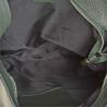 Torebko plecak duży w kolorze zieleń butelkowa