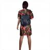 Plecak skórzany granatowy A4 rozmiar XL