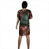 Zielony plecak damski ze skóry naturalnej