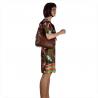 Skórzana torba na ramię – brązowa L