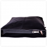 Skórzana torba na ramię – czarna L