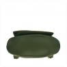 Plecak skórzany oliwkowy A4 lekki